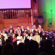 Concert des classes musicales du collège Anne Cartier de Livron