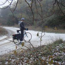 Balade autour de Valréas, sous la neige