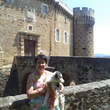 Pique-nique au château de Suze-la-Rousse