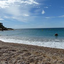 La grande plage de Cassis