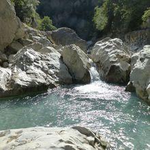Rando aquatique au gorges du Toulourenc