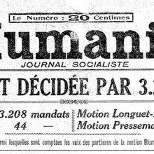 Socialistes ou COMMUNISTES? Enjeux des congrès du PARTI [Tribune libre] - de 1920 à 2016