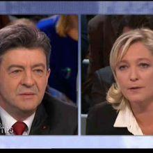 Un second tour Mélenchon le Pen est possible (comme tout le monde sait!)