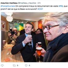 Fronde contre Mailly à FO
