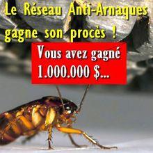 """Le Réseau Anti-Arnaques gagne son procès """"liste noire des enseignes et sociétés à éviter"""""""