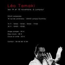 Léo Tamaki à Lampaul, 14 et 15 novembre