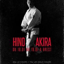 Hino Akira à Brest, 18 et 19 janvier
