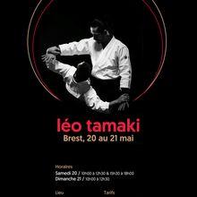 Léo Tamaki à Brest, 20 et 21 mai