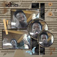 Selfie sénégalais