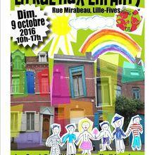la rue aux enfants ! c'est le 9 octobre, rue Mirabeau !