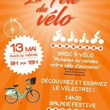 Fête du vélo : rendez-vous le 20 mai à 13 heures