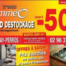 Cote de granit rose : De bonnes affaires chez Flammeo poeles spa jusqu'a fin juin