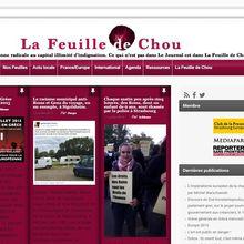 """Solidarité avec """"La feuille de chou"""""""