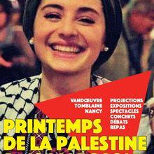 Le printemps de la Palestine 2016 à Nancy