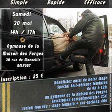 30-05-2015 Défense contre Car-Jacking !