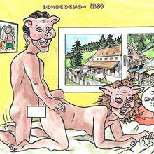 Longcochon (Jura) enfin un dessin cochon!