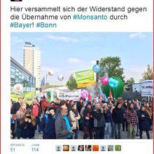 Fusion Bayer-Monsanto: gazouiller comme Trump... oh! Künast!