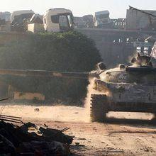 Contre-attaque à Alep sud