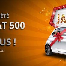 Gagnez une Fiat 500 et des bonus en jouant au tournois de l'été sur  Magicwins