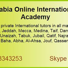 Saudi Arabia Online International Tutors Academy