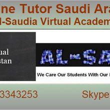 Saudi Arabia Online Tuition