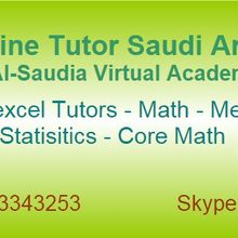 Online Expert Math Tutors Saudi Arabia