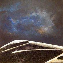 Les dunes se dessinent....