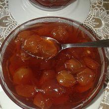 Confiture de raisin blanc