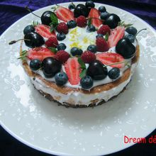 Chessecake aux fruits rouges