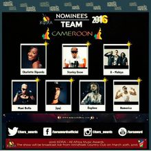 07 Camerounais nominés au Kora Awards 2016