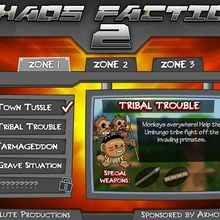Chaos Faction 2 is a spectacular game created in a fantastic way