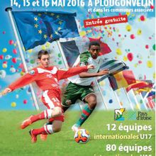 Festival d'Armor : 34ème Tournoi International de Football à Plougonvelin du 14 au 16 mai 2016