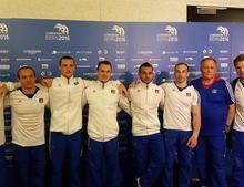 Championnats d'Europe GAM : L'équipe de France sénior 6ème.