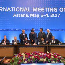 L'Est syrien, enjeu véritable des quatrièmes négociations d'Astana pour la paix en Syrie