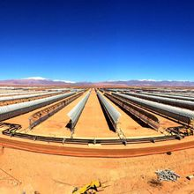 World's largest concentrated solar power plant