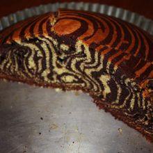 """Le """"Zebra cake"""""""