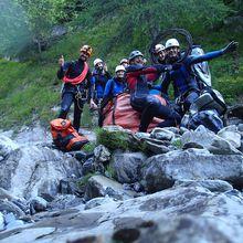 Mise en valeur concertée du canyon du Haut Verdon avec l'AAPPMA du Haut Verdon.