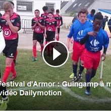 Festival d'Armor : Guingamp à moitié content, la vidéo