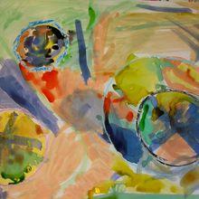 D'inspiration Robert Delaunay et Vassily Kandinsky !