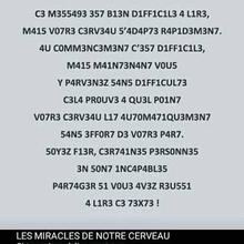 Les miracles de notre cerveau !
