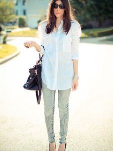 White Blouse, Blue Jeans