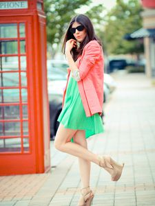 Color Blocking with Neutrals