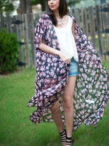 OOTD | Floral Kimono