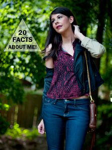 TAG | 20 Facts About Me