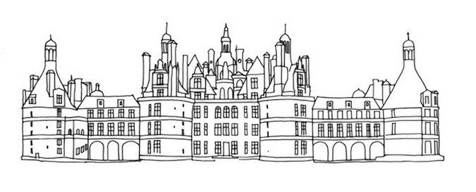 Coloriage Chateau De Chambord.Chambord Ecole Saint Martin La Gorgue