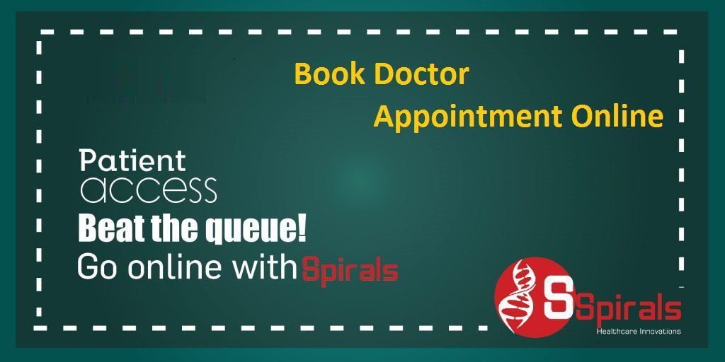 How to Book Doctor Appointment Online? - Spirals-Health over