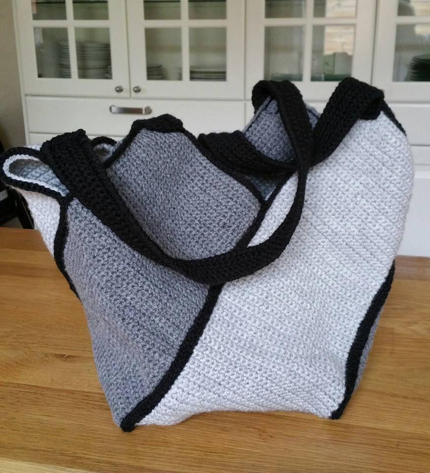 Sac Facile à Réaliser Au Crochet Les Tricots De Rémy