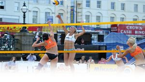 Un beach Volley so British !