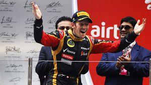 Grosjean, le talent made in France