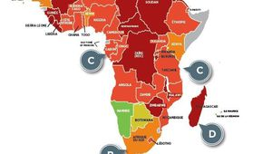 Évaluations des risques d'impayés des entreprises par pays – Coface (janvier 2016)